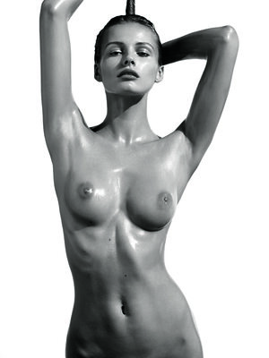Bild markiert mit: Black and White, Edita Vilkevičiūtė, Art, Boobs, Celebrity - Star, Tummy