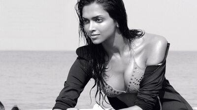 Bild markiert mit: Black and White, Brunette, Deepika Padukone, Celebrity - Star, Safe for work, Sexy Wallpaper