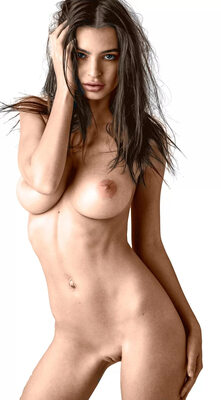 Bild markiert mit: Skinny, Brunette, Busty, Emily Ratajkowski, Boobs, Celebrity - Star, Tummy